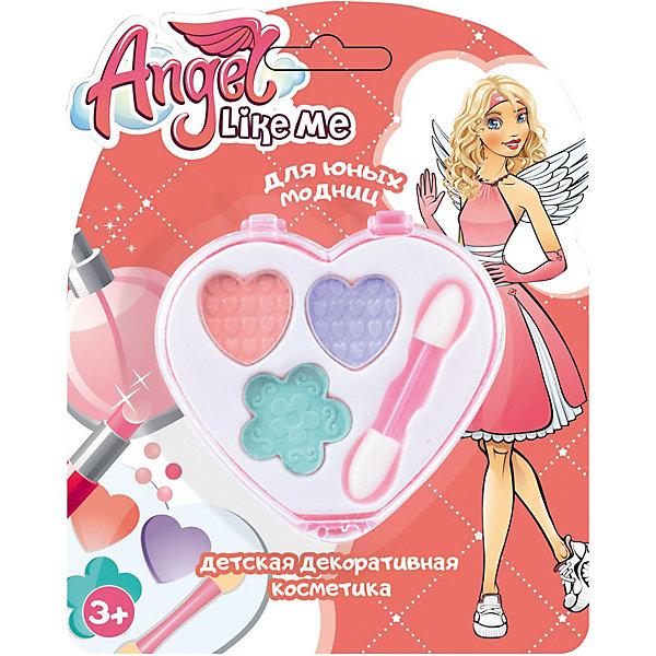 Angel Like Me Детский набор теней Сердце