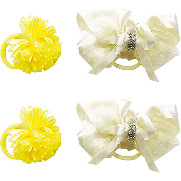 Купить Резинка Baby Steen, 4 шт, Китай, желтый, one size, Женский