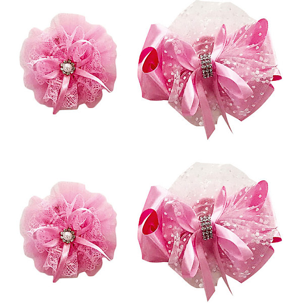 Купить Резинка Baby Steen, 4 шт, Китай, блекло-розовый, one size, Женский