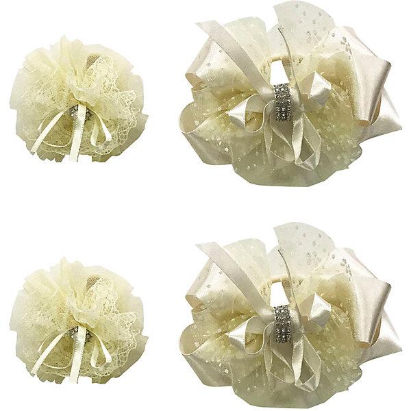 Купить Резинка Baby Steen, 4 шт, Китай, шампанское, one size, Женский
