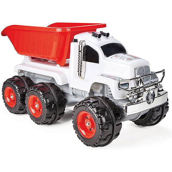 цена на Pilsan Грузовик Pilsan Crazy Truck, звук, красно-белый