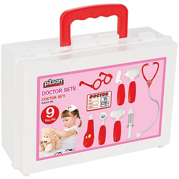 Купить Игровой набор Pilsan Doktor Set, красный, Турция, Унисекс