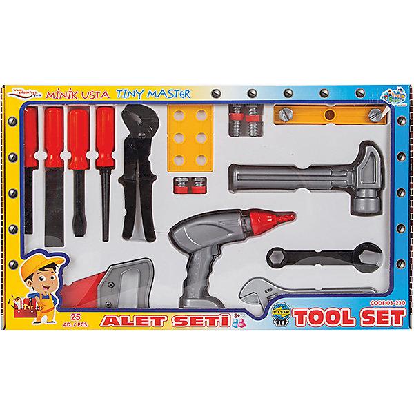 Pilsan Игровой набор строителя Pilsan Tool Set