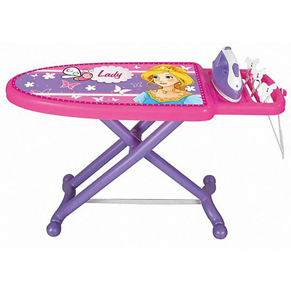 Pilsan Гладильная доска Lady Ironing Board, розовая