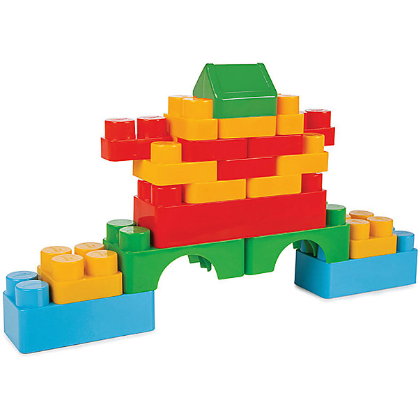 Pilsan Конструктор Pilsan Jumbo Magic Blocks, 60 деталей цена