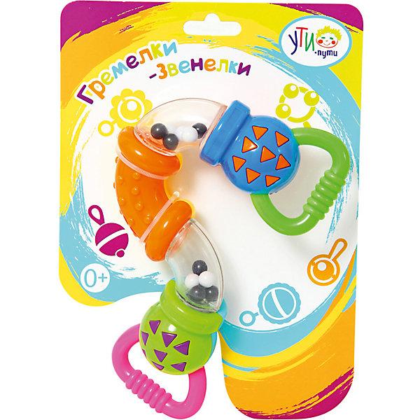 Ути-Пути Развивающая игрушка Ути Пути Гремелки-звенелки Погремушка