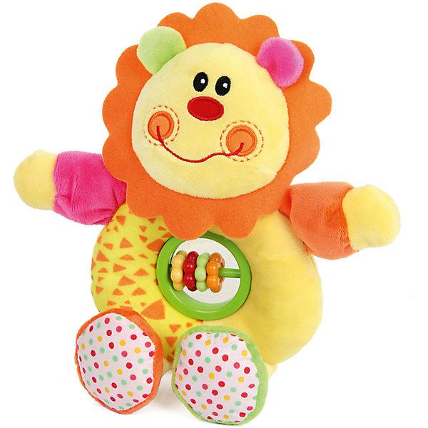 Ути-Пути Игрушка-гремелка Ути Пути Львёнок ути пути развивающая игрушка утенок цвет желтый