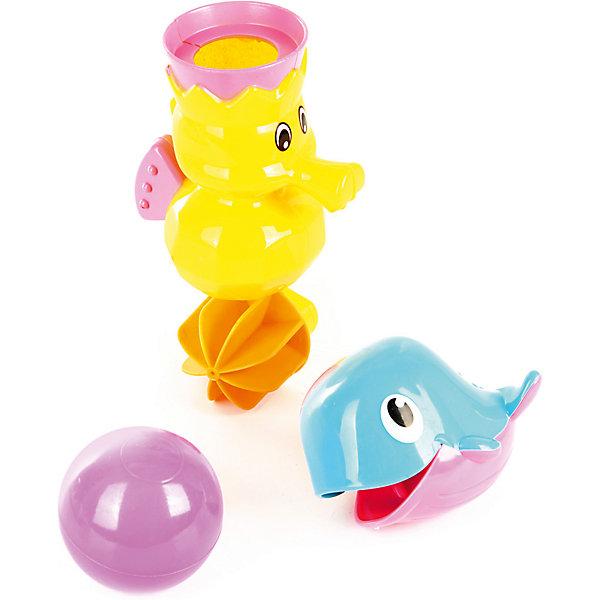 Ути-Пути Набор игрушек для ванны Ути Пути Давай поплаваем Дельфинчик и морской конёк ути пути развивающая игрушка утенок цвет желтый