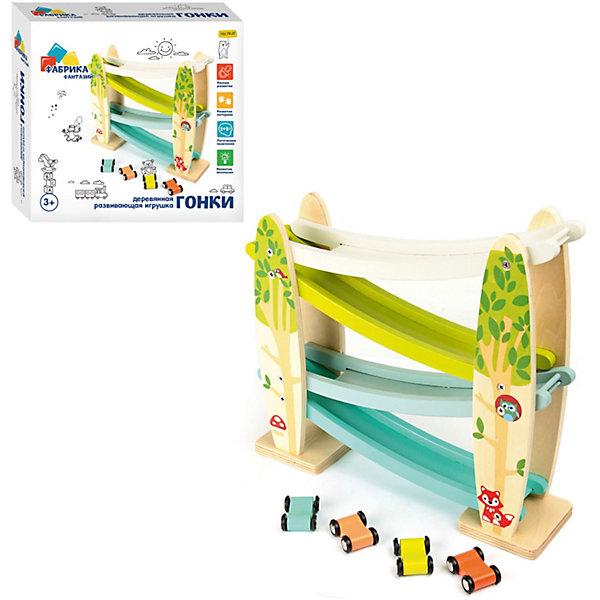 Фабрика Фантазий Развивающая игрушка Гонки