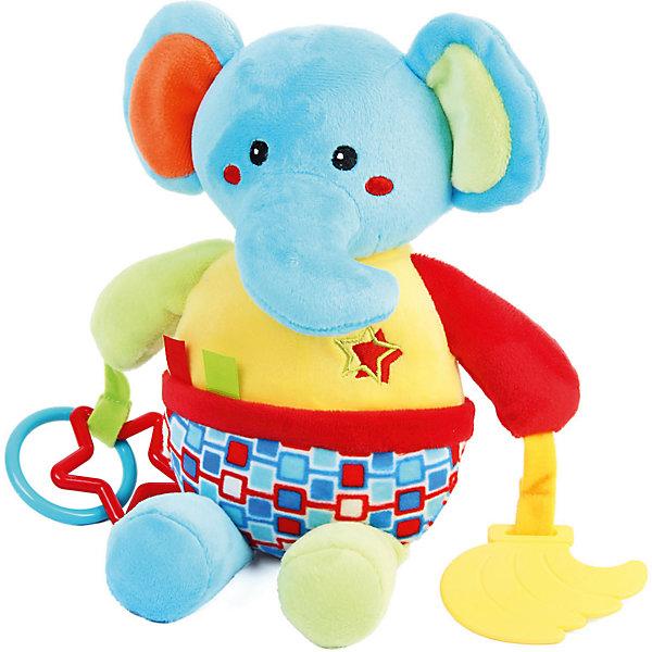 Ути-Пути Игрушка-гремелка Ути Пути Слоник ути пути развивающая игрушка утенок цвет желтый
