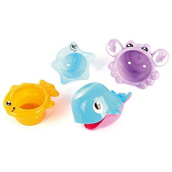 Ути-Пути Набор игрушек для ванны Ути Пути Давай поплаваем Морские обитатели ути пути развивающая игрушка утенок цвет желтый