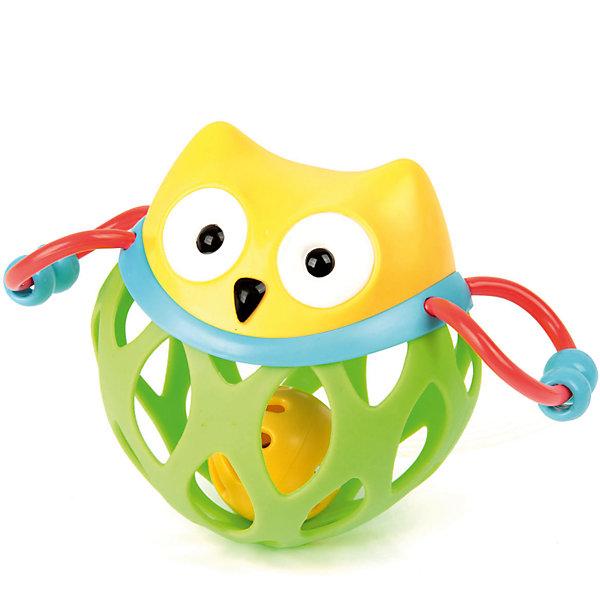Ути-Пути Погремушка Ути Пути Гремелки-звенелки Совушка ути пути развивающая игрушка утенок цвет желтый