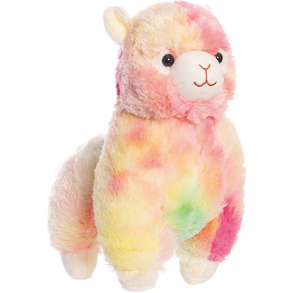 Fancy Мягкая игрушка Fancy «Альпака», розово-голубая мягкая игрушка fancy гламурная альпака белая 31 см