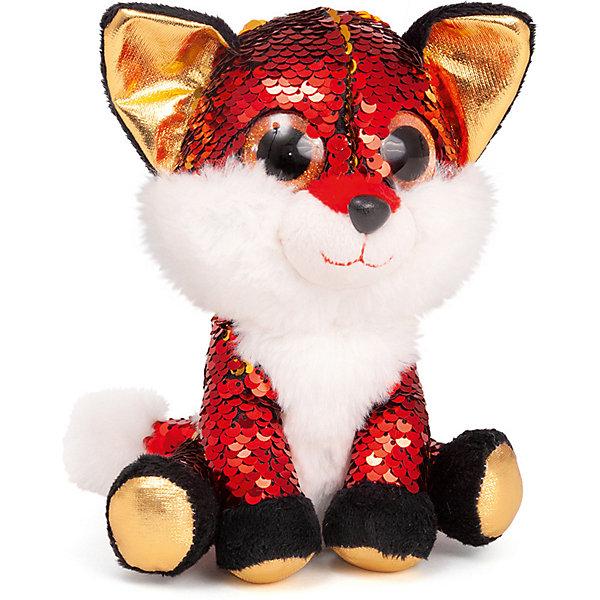 Fancy Мягкая игрушка Лисёнок Опал, красно-золотой
