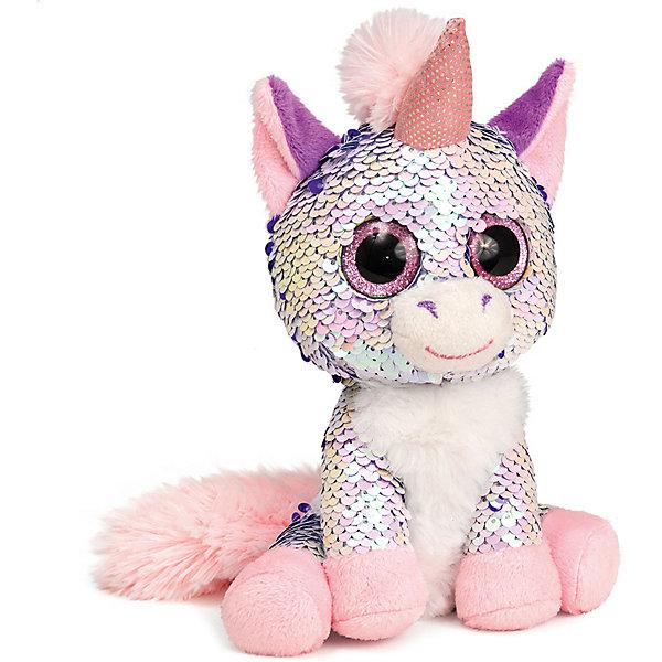 """Мягкая игрушка Fancy """"Единорог Жемчужина"""", розовый"""