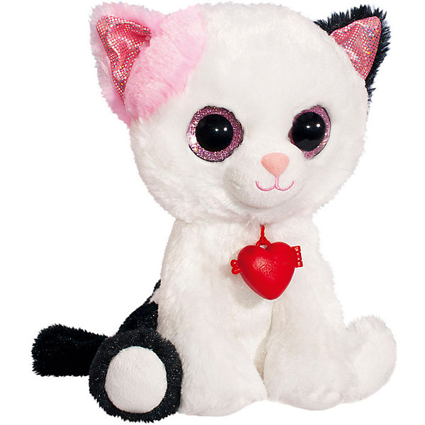 Fancy Мягкая игрушка Глазастик кот