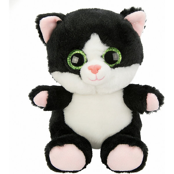 Fluffy Family Мягкая игрушка Fluffy Family Крошка котенок, 15 см, черная мягкая игрушка бегемот fluffy family бегемот 21 см серый коричневый искусственный мех пластмасса наполнитель
