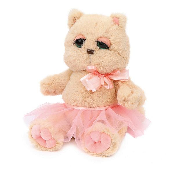 Angel Collection Мягкая игрушка Angel Collection Киска Персик в юбочке, бежево-розовая