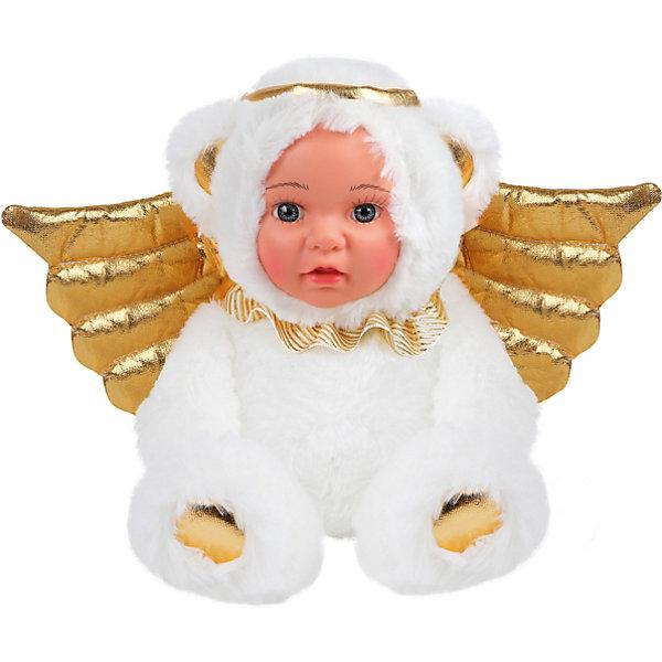 Fluffy Family Мягкая игрушка Fluffy Family Мой мишка ангелочек, белая мягкая игрушка fluffy family мой мишка 20 см