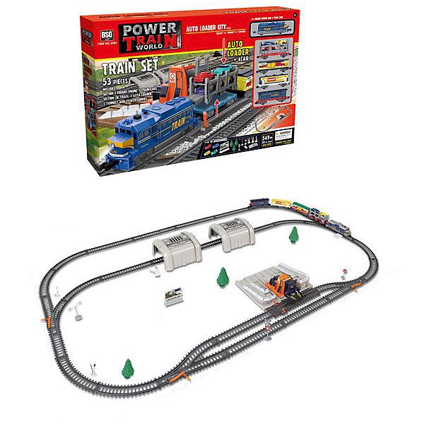 Maya Toys Железная дорога дорога, с машинками