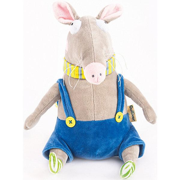 Gulliver Мягкая игрушка Крыса Афоня, 25 см
