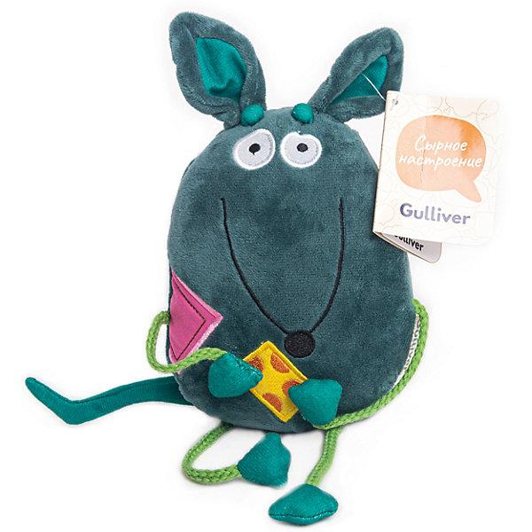 Фото - Gulliver Мягкая игрушка Gulliver Мышка Хвостик, 16 см мягкая игрушка gulliver пушистый хвостик лисичка 30 см