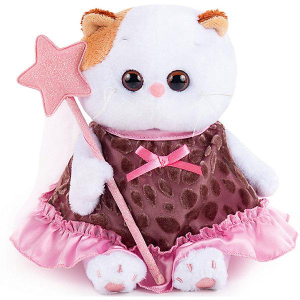 Budi Basa Мягкая игрушка Budi Basa Кошечка Ли-Ли Baby в коричневом платье с отделкой, 20 см платье толстовка с принтом кит в коричневом свитере