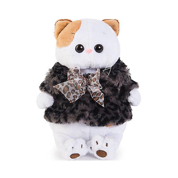 Budi Basa Одежда для мягкой игрушки Budi Basa Шубка с бантиком, 24 см шубка белая in extenso