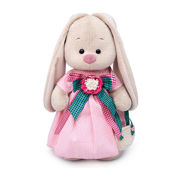 Купить Мягкая игрушка Budi Basa Зайка Ми Розовая дымка, 25 см, Россия, бежевый, Унисекс