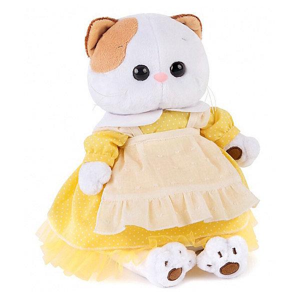Budi Basa Одежда для мягкой игрушки Budi Basa Платье желтое с передником, 24 см