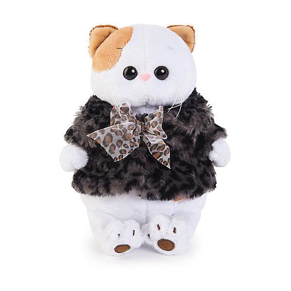 Budi Basa Одежда для мягкой игрушки Budi Basa Шубка с бантиком, 27 см шубка белая in extenso