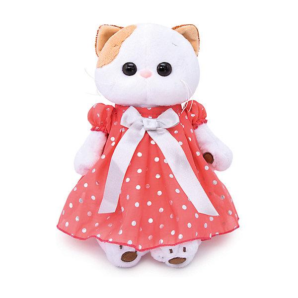 Budi Basa Мягкая игрушка Budi Basa Кошечка Ли-Ли в платье в горошек, 27 см