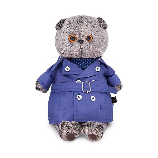 Budi Basa Одежда для мягкой игрушки Budi Basa Плащ темно-синий и галстук для Басика, 22 см