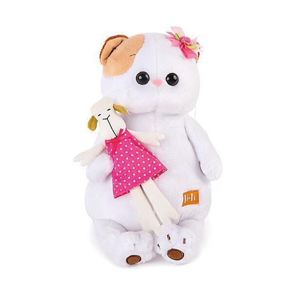 Мягкая игрушка  Budi Basa Кошечка Ли Ли с овечкой, 27 см