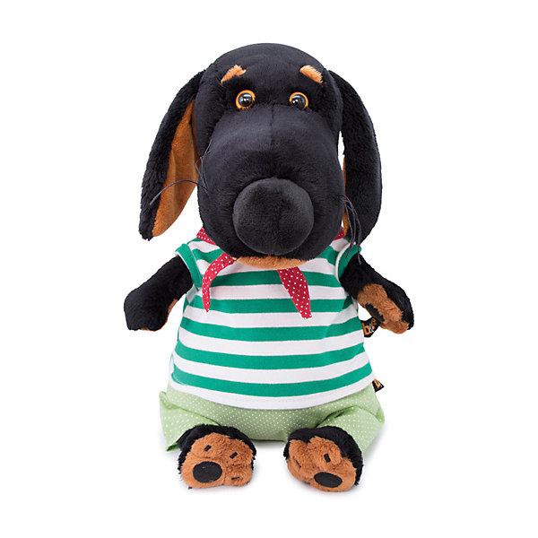 Budi Basa Мягкая игрушка Собака Ваксон в морском костюме, 29 см