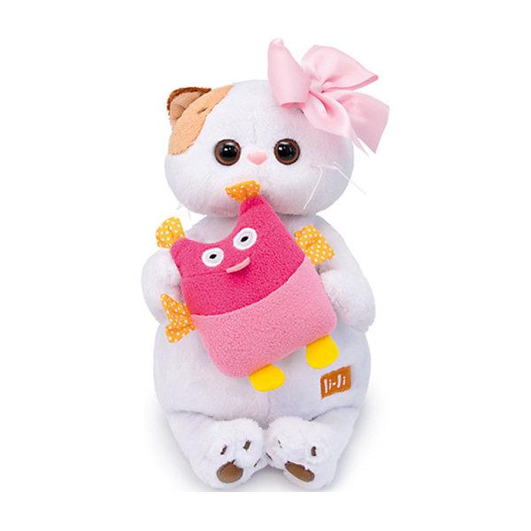 Budi Basa Мягкая игрушка Кошечка Ли-Ли с совой, 24 см