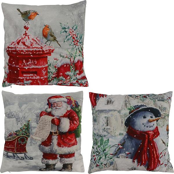 - Декоративная подушка House of seasons Рождество красная