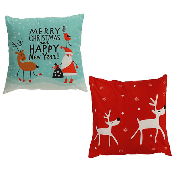 - Декоративная подушка House of seasons Рождество голубая