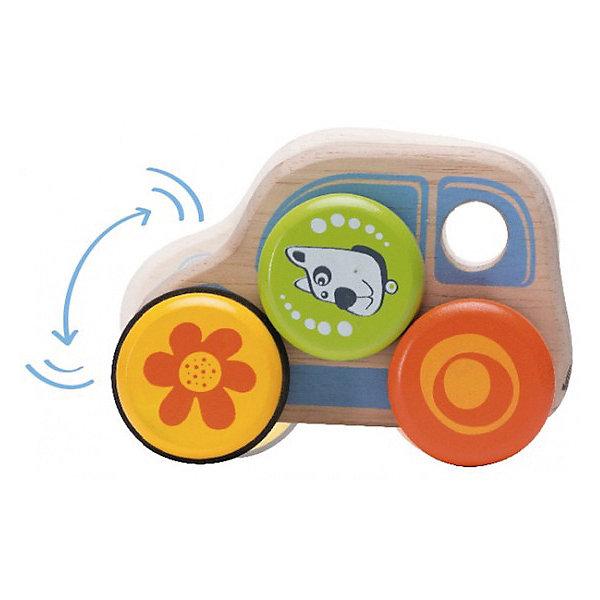 Wonderworld Деревянная игрушка Машинка на колесах