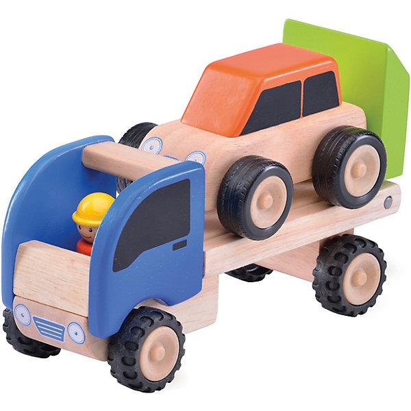 Wonderworld Деревянная игрушка Miniworld Мини-трейлер