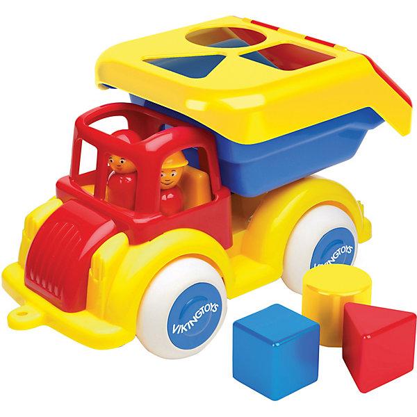 Viking Toys Машинка-сортер Viking toys с кубиками недорого