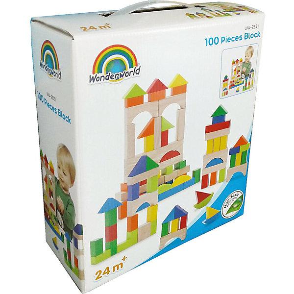 Wonderworld Цветные кубики