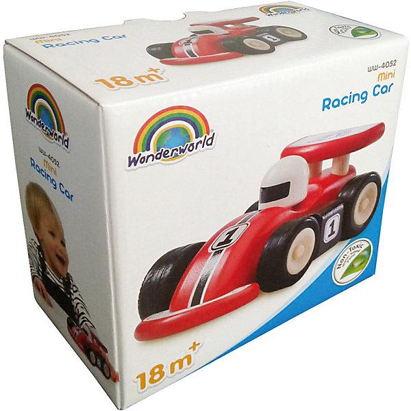 Wonderworld Деревянная игрушка Miniworld Гоночная машинка
