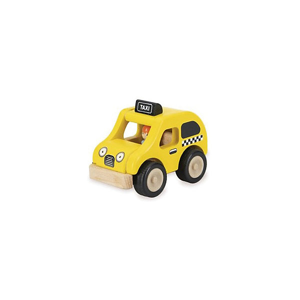 Wonderworld Деревянная игрушка Miniworld Такси