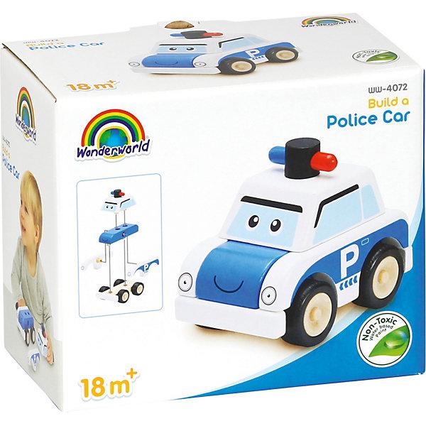 Wonderworld Игрушка-конструктор Miniworld Полицейская машина