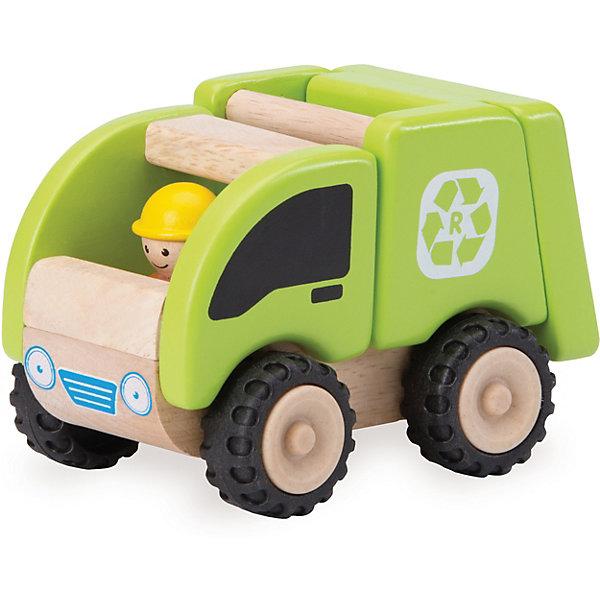 Wonderworld Деревянная игрушка Miniworld Мусоросборочная