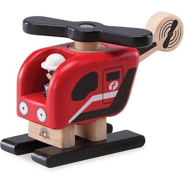 Wonderworld Деревянная игрушка Miniworld Вертолет