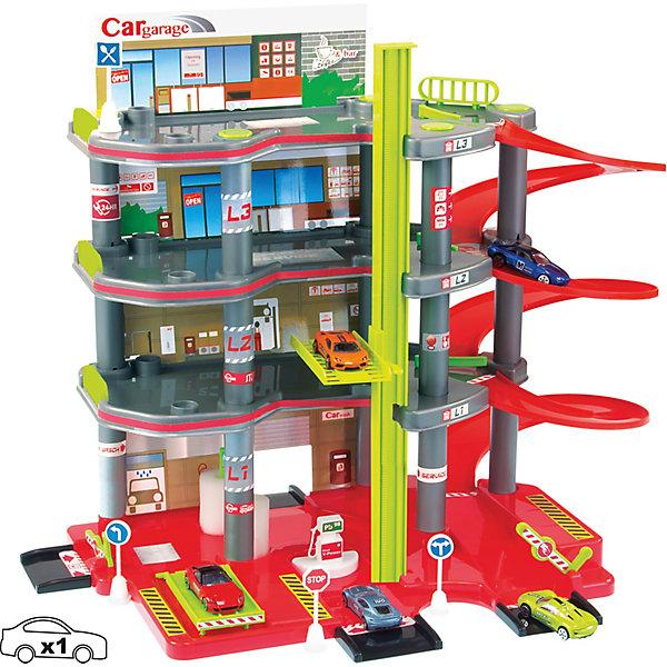 Mochtoys Игровой набор Mochtoys Парковка 4 уровня + машинка игровой набор mochtoys доска 110см