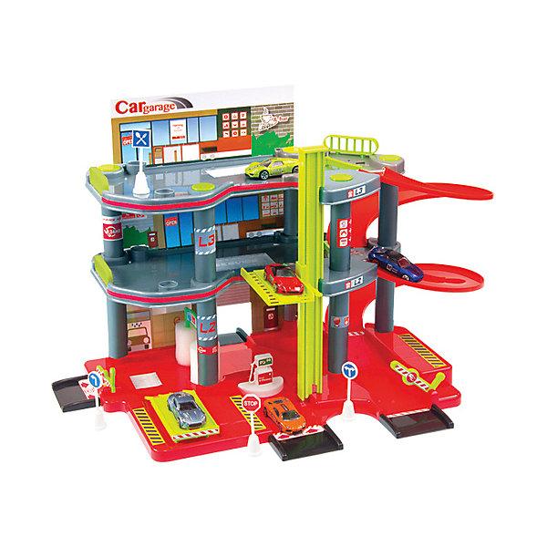 Mochtoys Игровой набор Парковка + машинка