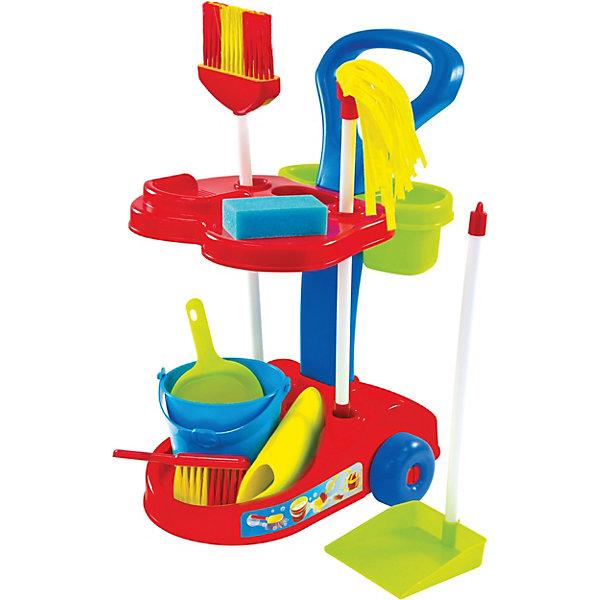 Mochtoys Игровой набор в тележке Маленькая помощница